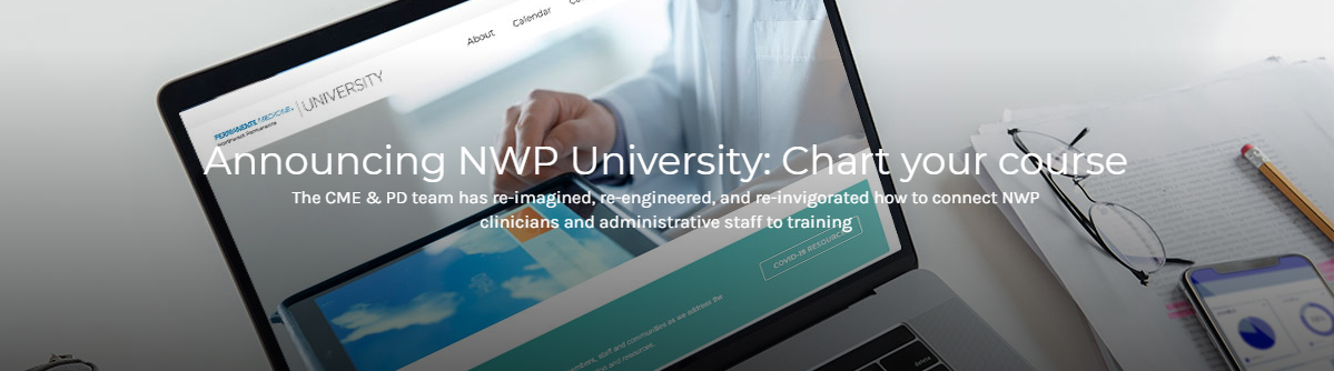 NWP University Announcement via NWP Portal